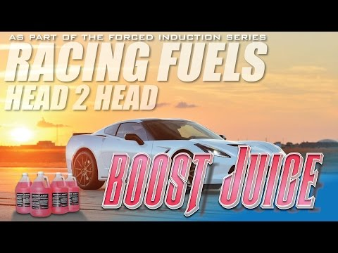 Race Fuels: Boost Juice Injection How much power can it make over 93 octane?