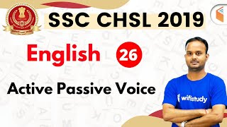 7:30 PM - SSC CHSL 2019 | English by Sanjeev Sir | Active Passive Voice