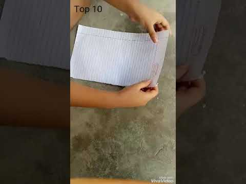 How to make super fast paper plane