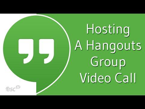 Initiating Hangouts Group Video Calls