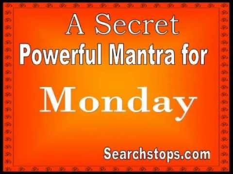 Mantra for Monday - Lord Shiva Mantra for Anykind of Wish and Moksha