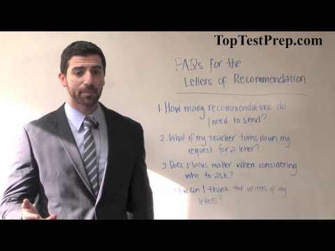 How to Get the Best Letters of Recommendation - TopTestPrep.com