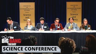 SCIENCE CONFERENCE GOES WRONG   The Big Bang Theory best scenes