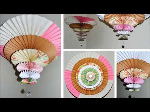 Spinning Medallions Paper Fan/Chandelier