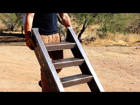 Making BIG stairs for the TINY Shipping Container Playhouse