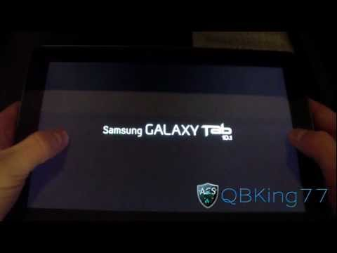 How to Install the Galaxy Task Rom on the Samsung Galaxy Tab 10.1