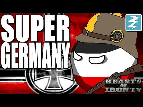 HOW TO MAKE SUPER GERMANY - CHEAT - Hearts of Iron 4 (HOI4)
