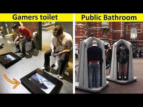 Weird And Genius Toilets You Have Never Seen Before