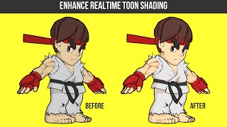 Blender: Enhance Realtime Toon Shading