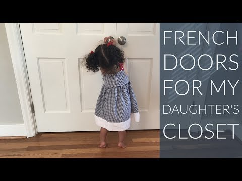 Convert Sliding Bypass Doors to French Doors