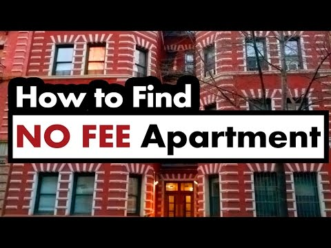 How To Find a NO FEE Apartment in New York City
