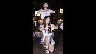 170811 R.G.P. (리얼걸프로젝트, Real Girls Project) 댄스커버 - SIGNAL (of 트와이스) (수지) 직캠 by 수원촌놈 [신촌 버스킹]