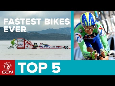 Top 5 Fastest Bikes | Cycling Speed World Records