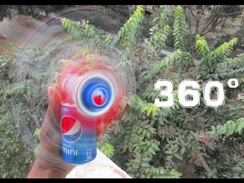 How To Make a Fan - 360 degree rotating Fan