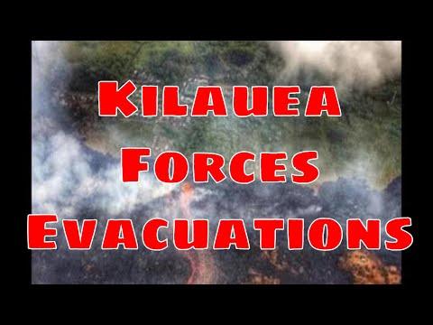 FAST LAVA Sparks Immediate Evacuations in Hawaii - Kilauea volcano