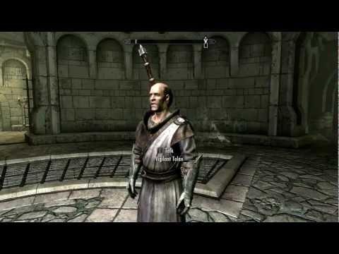 Skyrim Dawnguard playthrough part 1