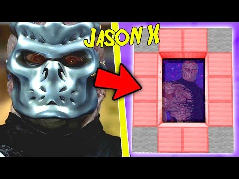 HOW TO MAKE A PORTAL TO THE JASON X DIMENSION - MINECRAFT FRIDAY THE 13TH