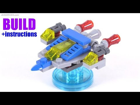 Build with me: LEGO Dimensions Benny's Spaceship v1