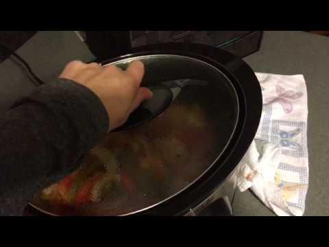 Crockpot chicken fajitas 2