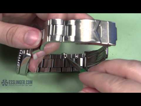How to Remove T-Bar Watch Band Links