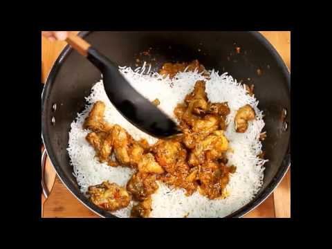Quick Chicken Biryani Recipe  - Biryani Recipe For Beginners - Chicken Dum Biryani