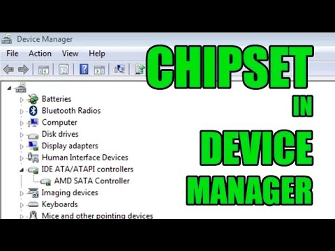 Chipset in Device Manager