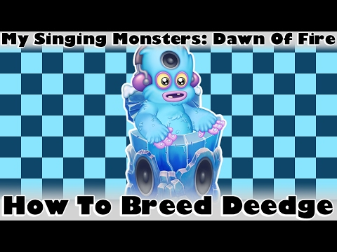 My Singing Monsters: Dawn Of Fire - How To Breed Baby Deedge
