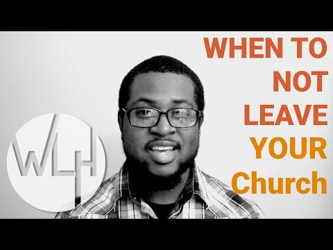 Shoud You Leave Your Church? | Worship Leader Hangout