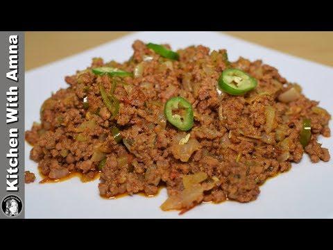 Tawa Keema Recipe for Ramazan Sehri - Special Ramadan Recipe - Kitchen With Amna