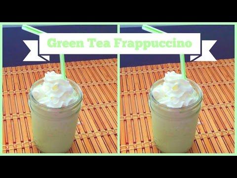 Homemade Green Tea Frappuccino ♥ Food-e-licious Video