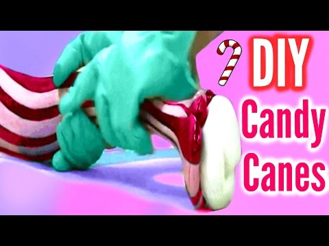DIY CANDY CANES! Homemade Candy Canes!