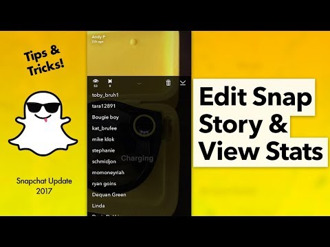 How to Edit your Snapchat Story