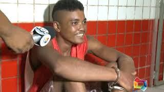 PRISÃO DENILSON HOMICÍDA DE  MAIQUINHO NO POVOADO SAPUCAIBA 08 09 18