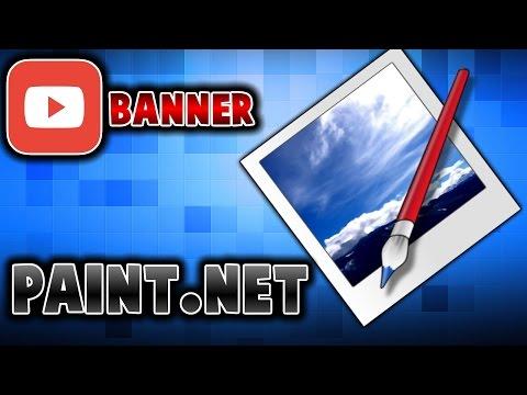 Paint.net [] Hoe maak je een banner