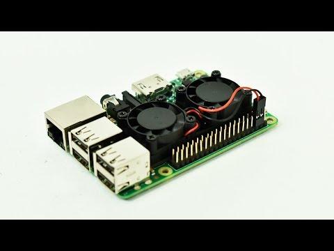 Dual Fan Raspberry Pi 3 Heatsink Test