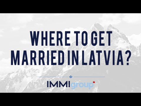 Where to get married in Latvia?