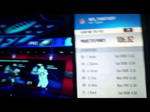 NFL App on Xbox One