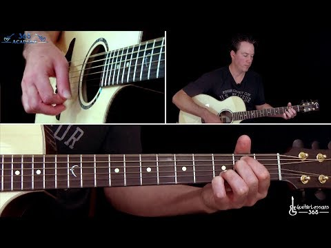 Oasis - Live Forever Guitar Lesson (Acoustic)