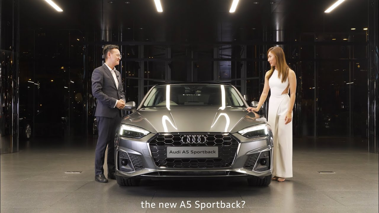 The New Audi A5 Sportback Digital Launch