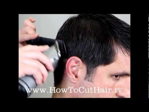 Clipper Cutting - How To Cut An Ivy League Haircut
