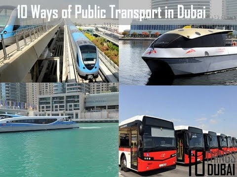 Transportation in Dubai / Cheapest Dubai Public Transportation for Visit Visa Holders / JobsinDubai