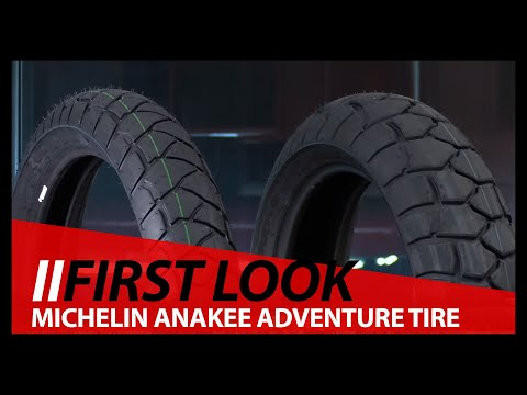 First Look!  Michelin Anakee Adventure Tire - BMW R1250GS - Adventure Bike Tire
