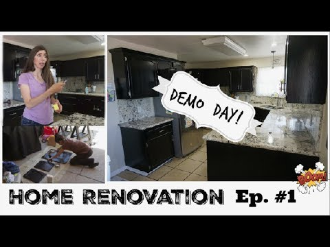 Home Renovation Ep#1 | DIY House Update Vlog Style 2018 | Momma From Scratch