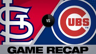 6/9/19: Schwarber, Hendricks lead Cubs past Cardinals