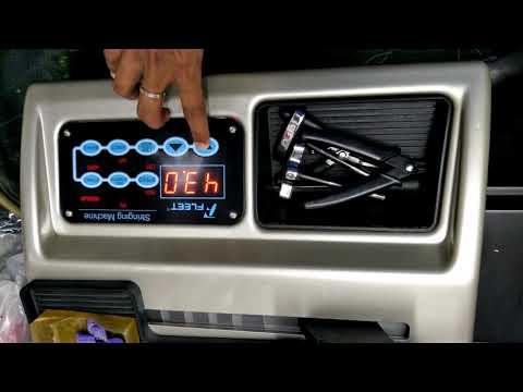 Badminton Racket string adjustment digital machine