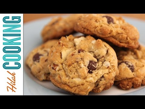 How to Make Oatmeal Chocolate Chip Cookies |  Hilah Cooking