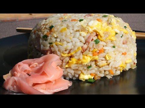 Chahan Japanese Fried Rice チャーハン - 炒飯 - Morgane Recipes