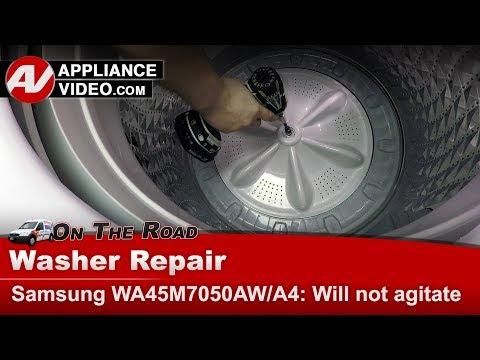 Whirlpool Washer -   Will not agitate - Diagnostics & Repair