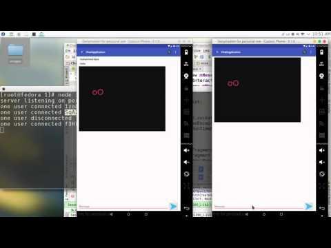 239 Android Studio Chat network JSON NodeJS JavaScript