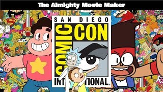 Download The Almighty Movie Maker: Cartoon Network @ SDCC Video